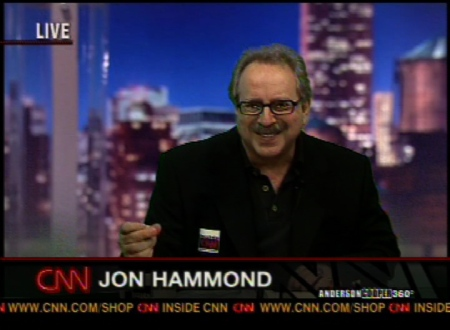 CNN Guest Anchor Jon Hammond