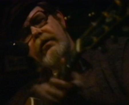 Dave Van Ronk 1987 appearance on The Jon Hammond Show