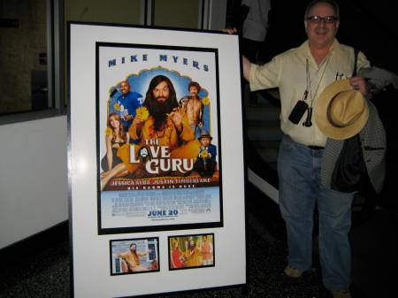 Jon Hammond at opening of Mike Myers The LOVE GURU