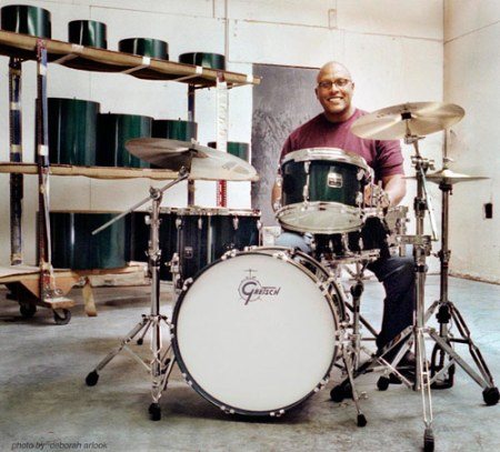 Stephen Ferrone Gretsch Drums Endorsee