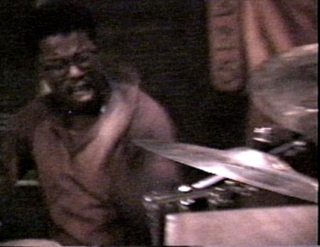 Chuggy Carter + Bernard Purdie solo on Jon Hammond Band 1989